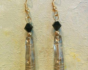 Swarovski crystal and Czech glass Earrings
