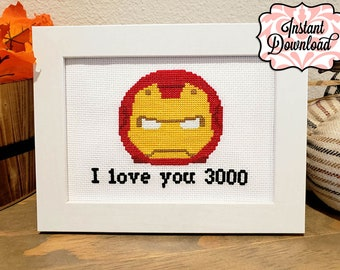 Counted Cross Stitch Kit RTO I love you anyway!