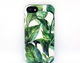 iPhone 8 case, iPhone 6s case, iPhone 7 Cover, iPhone 6 case, iPhone 5 case, iPhone 5s case, iphone case, phone case - Leaf