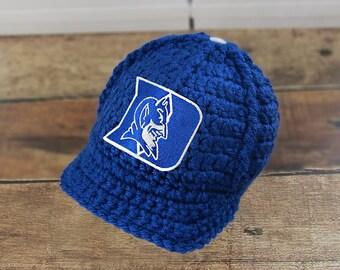bb19ac8f32af72 Baby Boy Clothes, Newborn Baby Boy Hat, Baby Boy Clothes, Baby Boy Take  Home Hat, Newborn Baby Boy Outfit - Duke University Baby Hat