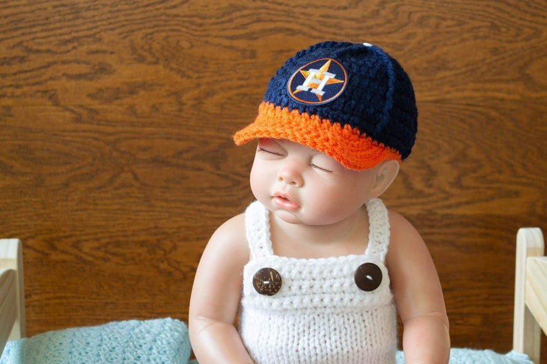 630c57f4f14 Baby Boy Hat Newborn Hat Infant Hats Newborn Houston Astros