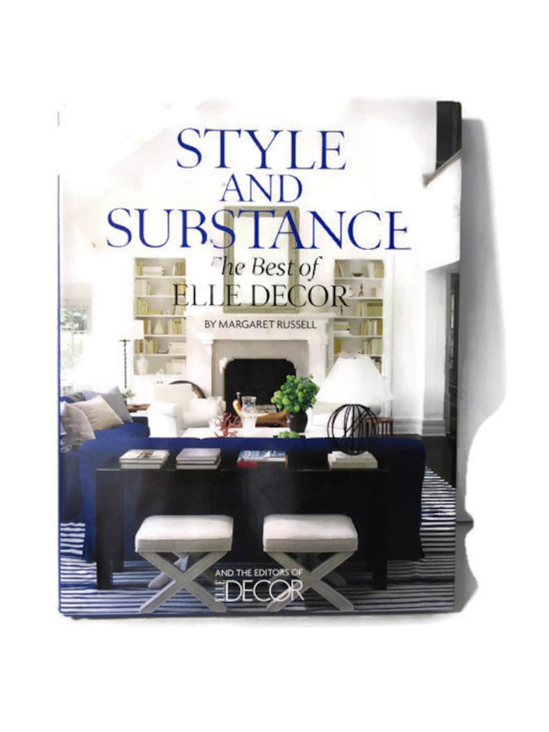 Elle Decor Interior Designers book style and substance by elle decor. interior designers, home decor,  house restoration, chic interiors, home design, book present gift.