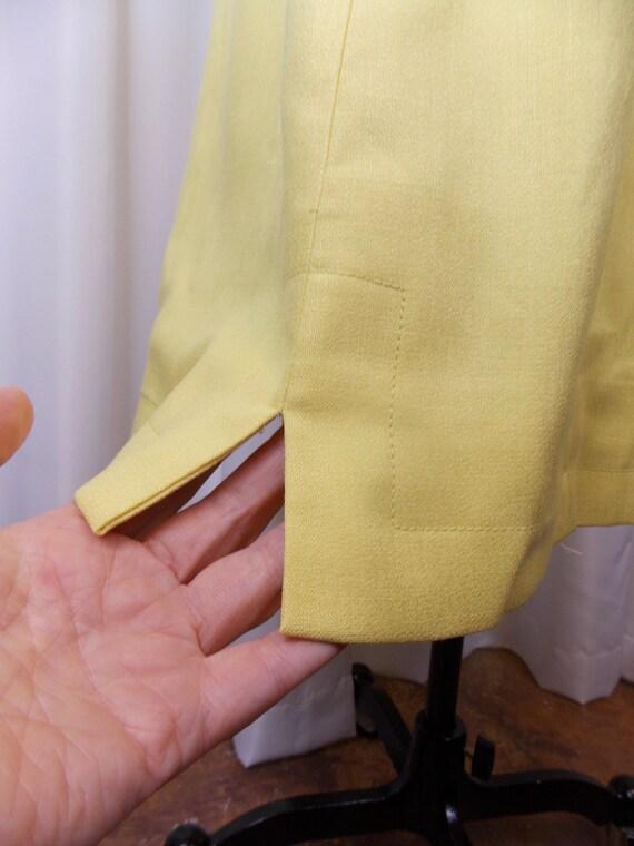1960's Bright Yellow Dress Kerrybrooke - image 7