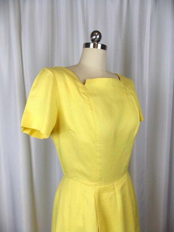 1960's Bright Yellow Dress Kerrybrooke - image 5