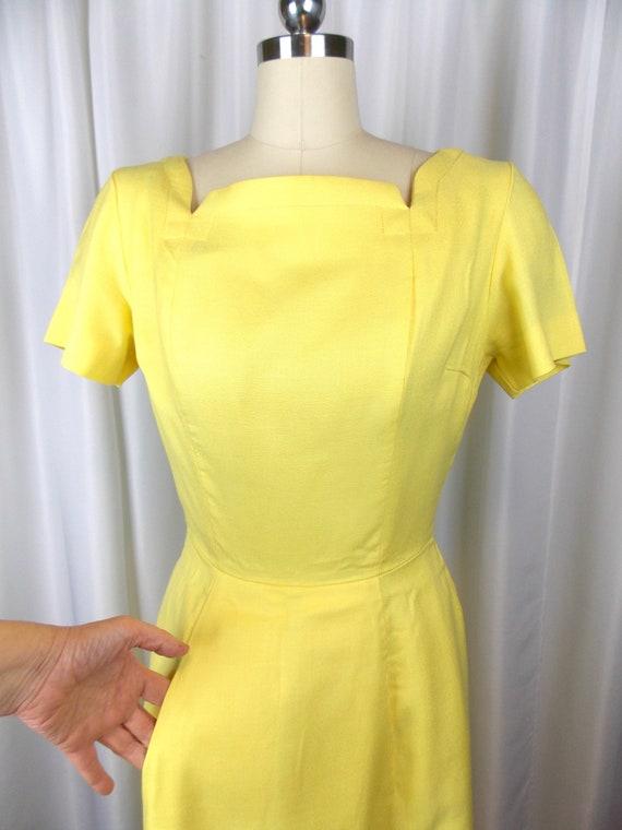 1960's Bright Yellow Dress Kerrybrooke - image 3