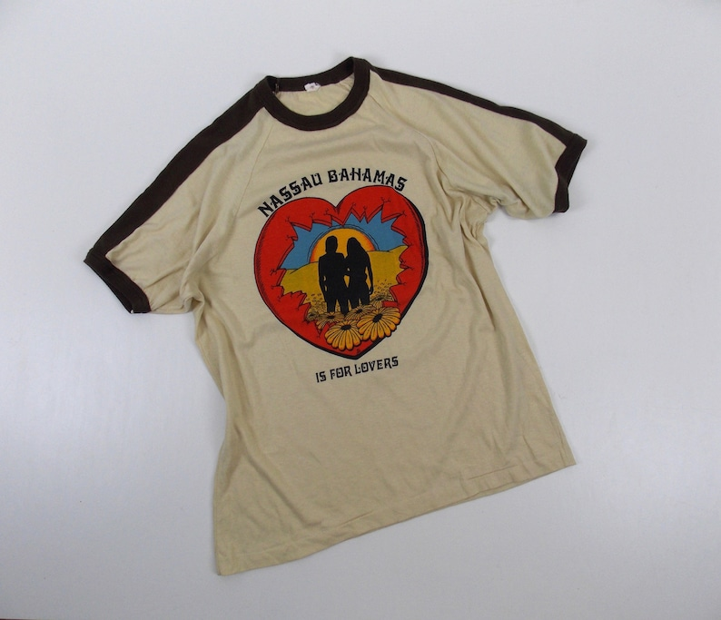 Nassau Bahamas Is For Lovers Vintage T-Shirt