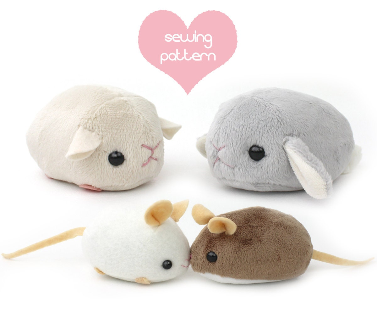 Patterns For Stuffed Animals Custom Decorating
