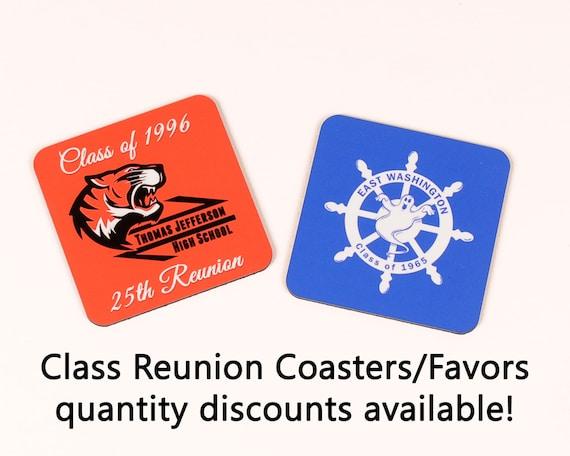 Class Reunion Coaster Favors 150