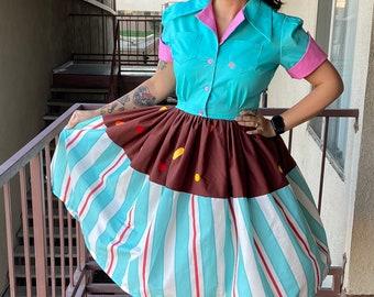 Vanellope Shirtwaist Dress