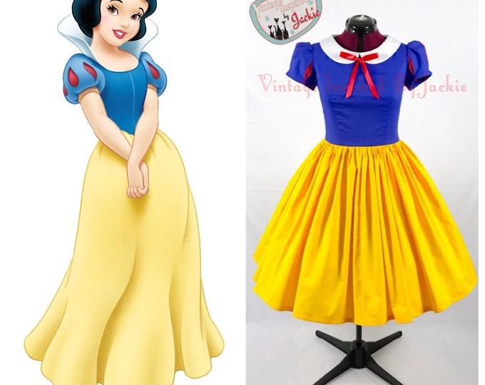 Peter Pan Collar Snow White disney bound Inspired Dress