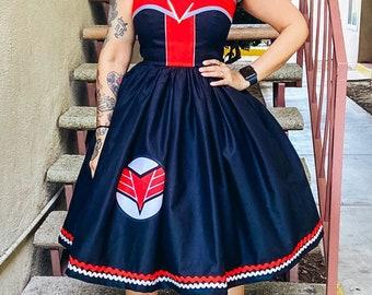 Bird of Prey Falcon dress