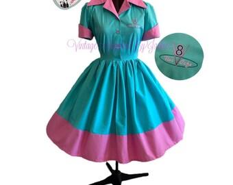 Diner Cafe Shirtwaist Dress