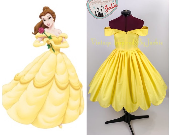 Belle Disney Bound dress
