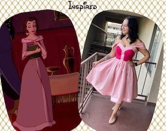 Pink Belle Princess dress
