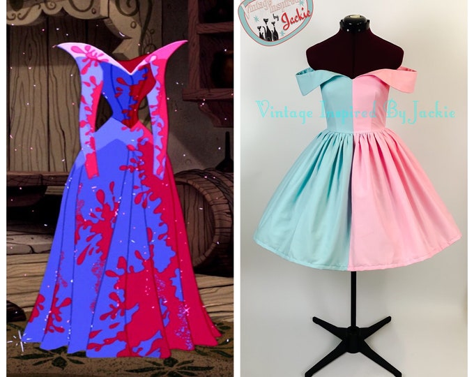 Sleeping Beauty Disney Bound dress