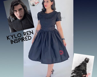 The First Order Captain Inspired Dress