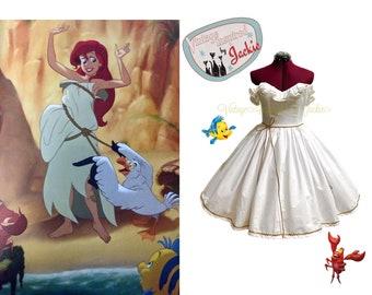 Little Mermaid Sail Disney Bound dress