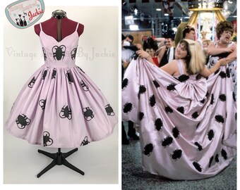 Tracy Turnblad Do the Roach Print, Full Skirt