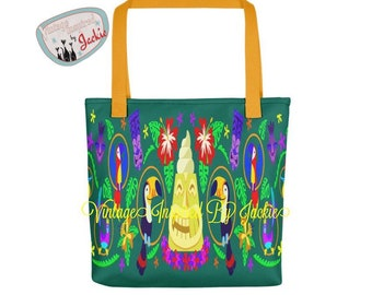Tiki Themed Totes
