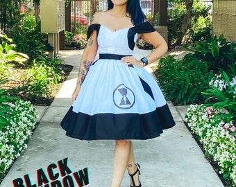 Black Arachnid Widow Dress
