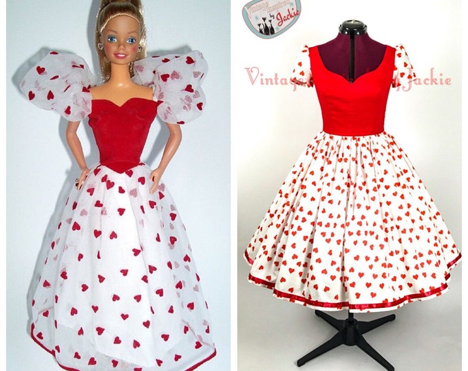 Barbie Hearts Inspired Dress
