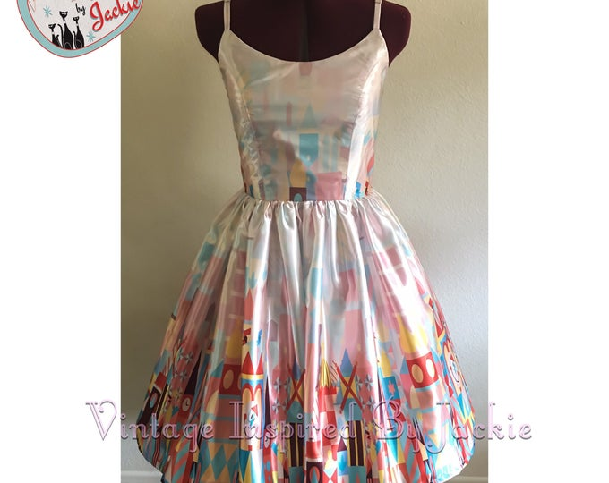 Clock Face, Swing Dress
