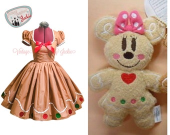 Minnie Mouse Gingerbread Holiday Bound dress