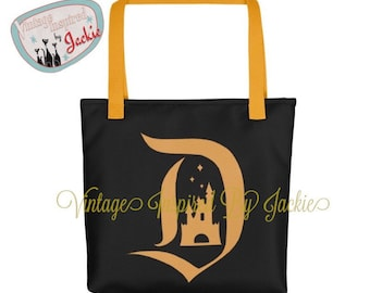 Letterman D Themed Totes