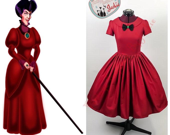 Lady Tremaine Disney Bound Inspired Dress