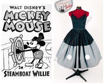 Steamboat Mouse Bound dress