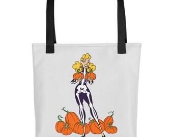 Halloween Pinup Tote bag