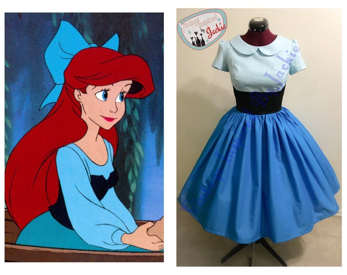 "Little Mermaid ""Kiss the Girl"" Inspired Dress"