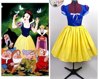 Snow White Disney Bound dress