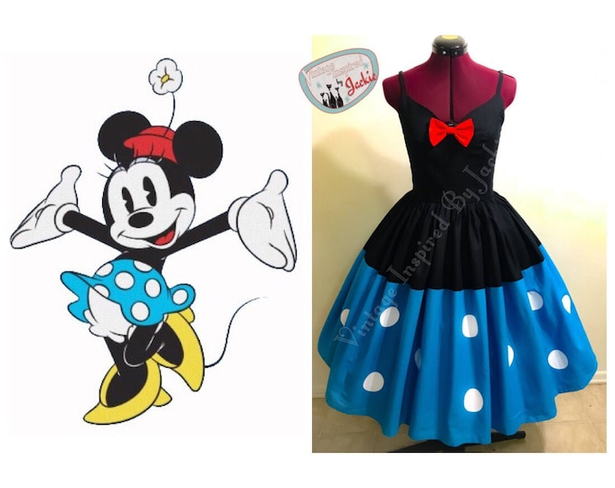 Minnie Mouse Inspired Disney Bound dress