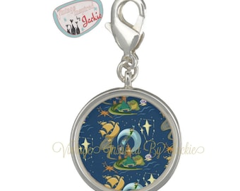 Night Flyer Charm for Charm bracelets