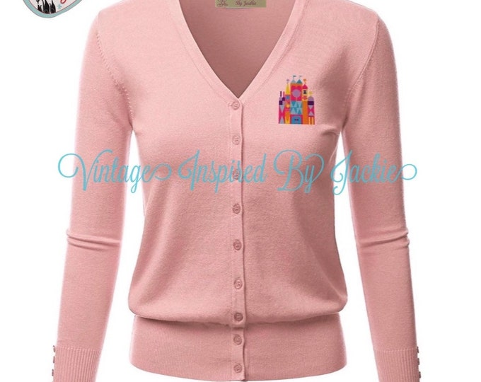 Featured listing image: Small World Cardigan pre-order