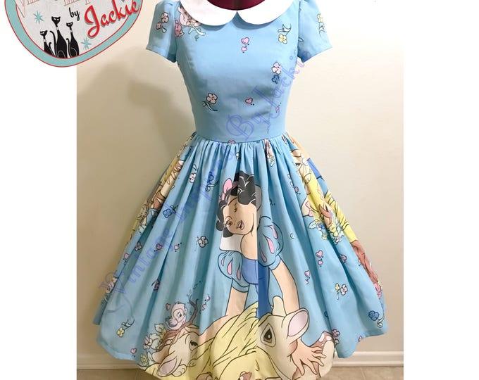 Snow White bedsheet Dress
