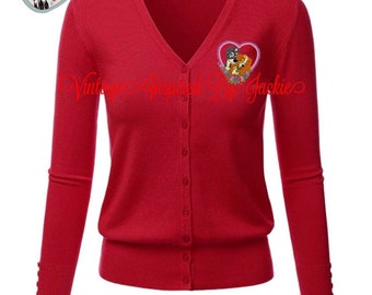 Lady and the Tramp Cardigan pre-order