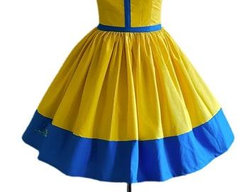 Yellow Flounder dress