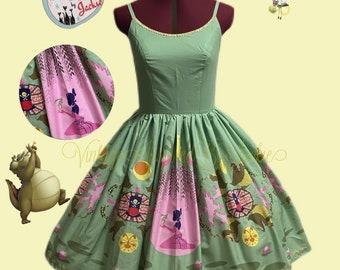 Frog Princess inspired Bound dress