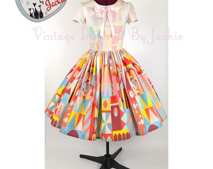 Clockface disney bound Inspired Dress