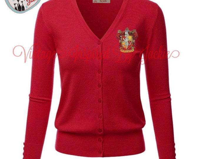 Featured listing image: Gryffindor Cardigan pre-order
