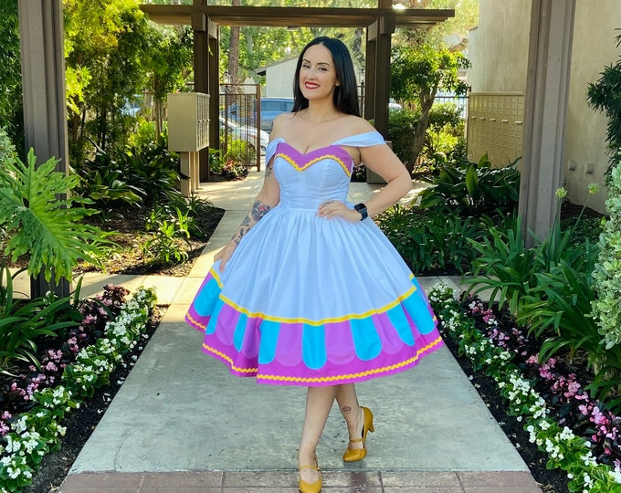 Featured listing image: Mrs. Potts Strapless dress