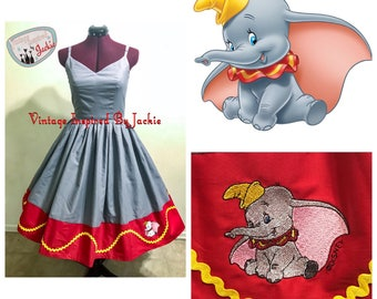 Elephant Dumbo Bound Dress