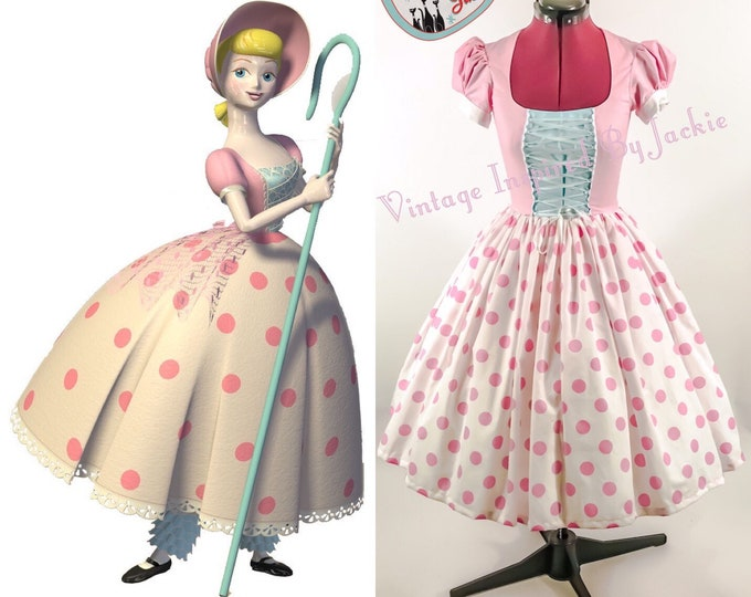 Bo Peep Disney Bound dress