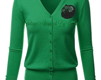 Hitchhiking Ghosts Cardigan pre-order
