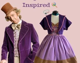 Willy Wonka 2piece Dress and Bolero Bound dress