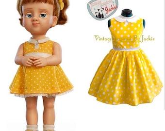 Gabby Gaby Peter Pan Collar Disney Bound Dress