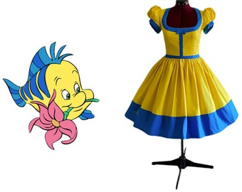 Flounder dress