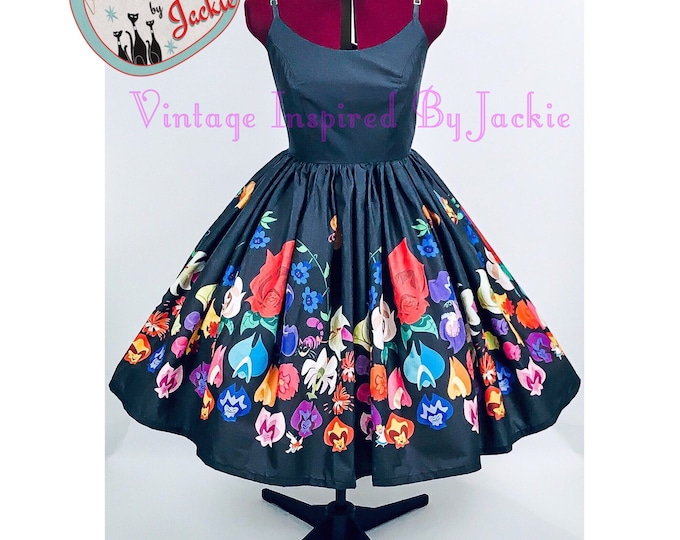 Festival of Flowers, Swing Dress